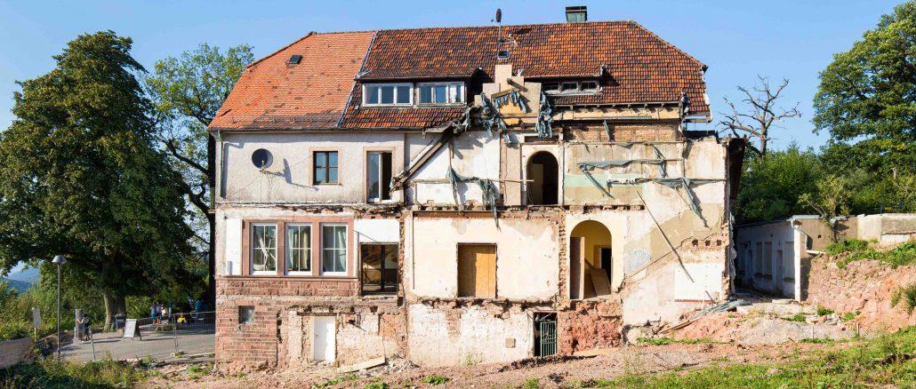 Altes Haus wird abgerissen